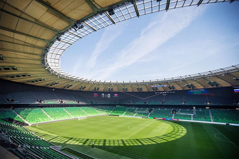 стадионы к чемпионату мира 2018 в краснодаре